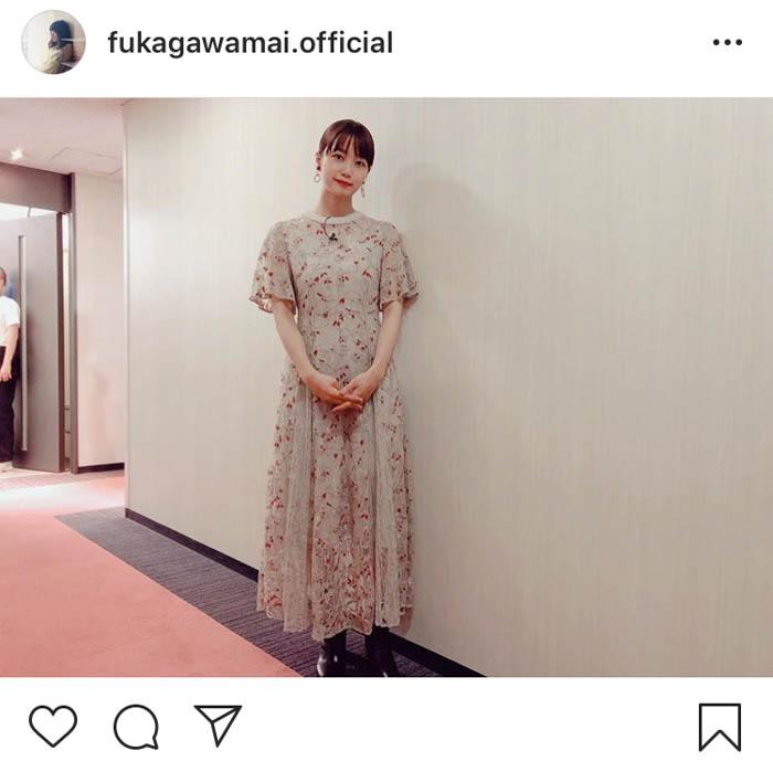 深川麻衣、『FNSオールスター秋の祭典』で『まんぷく』キャストと再会!?