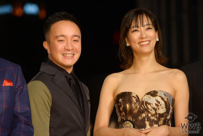 濱田岳、水川あさみが「第32回東京国際映画祭」レッドカーペットに登場!