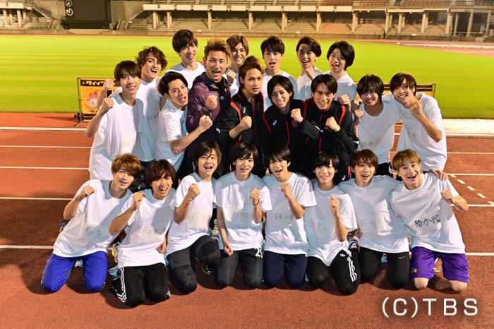 KAT-TUN・上田竜也率いる『上田ジャニーズ陸上部』が再始動!Jr.総勢18人が全力疾走