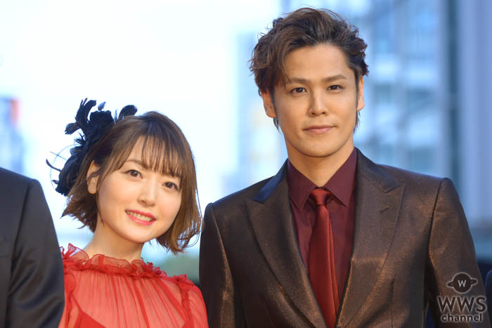 宮野真守、花澤香菜が「第32回東京国際映画祭」レッドカーペットに登場!
