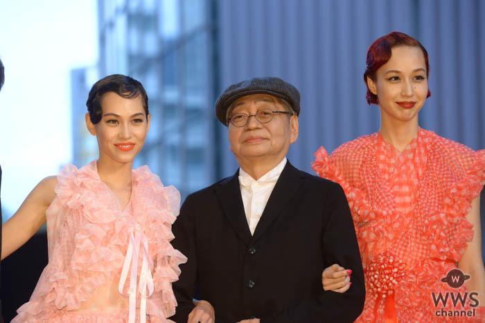 水原希子、水原佑果が姉妹揃って「第32回東京国際映画祭」に登場!