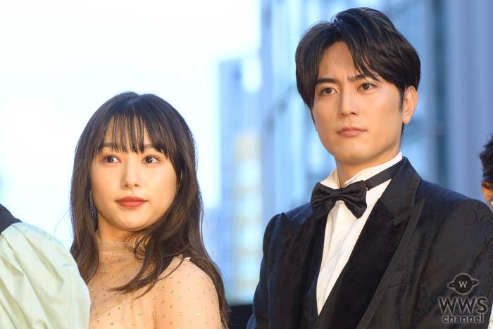 間宮祥太朗、桜井日奈子が「第32回東京国際映画祭」レッドカーペットにと登場!