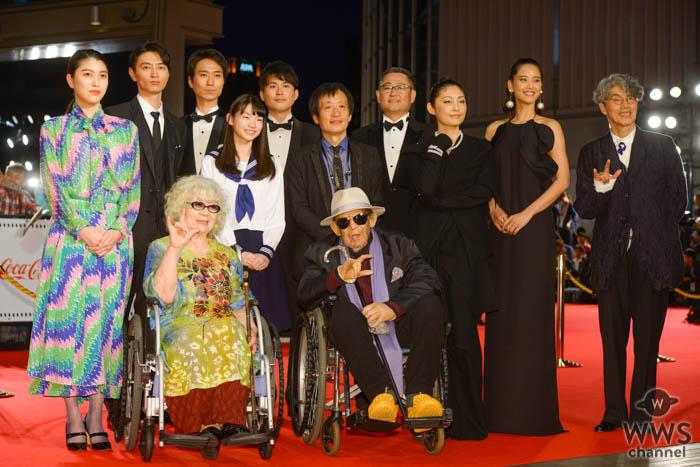 常盤貴子、成海璃子が「第32回東京国際映画祭」レッドカーペットに登場