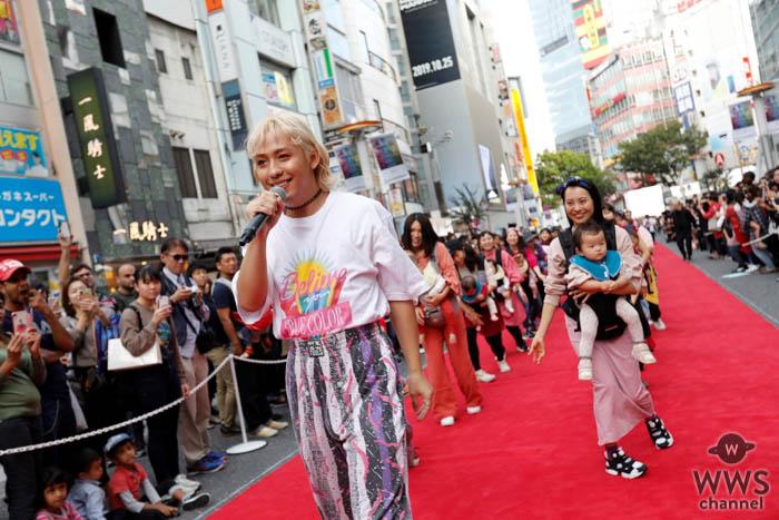 RYUCHELLが「渋谷音楽祭2019」45組の赤ちゃん&パパママとステージ共演!
