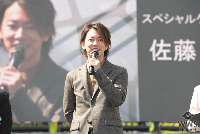 佐藤健が熊本城の復旧記念式典にサプライズ登場!
