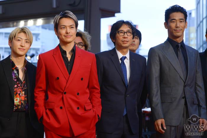 三代目JSB・今市隆二、小林直己、GENERATIONS ・佐野玲於が「第32回東京国際映画祭」レッドカーペットに堂々と登場!
