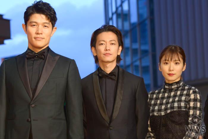 佐藤健、鈴木亮平、松岡茉優が「第32回東京国際映画祭」レッドカーペットに登場!