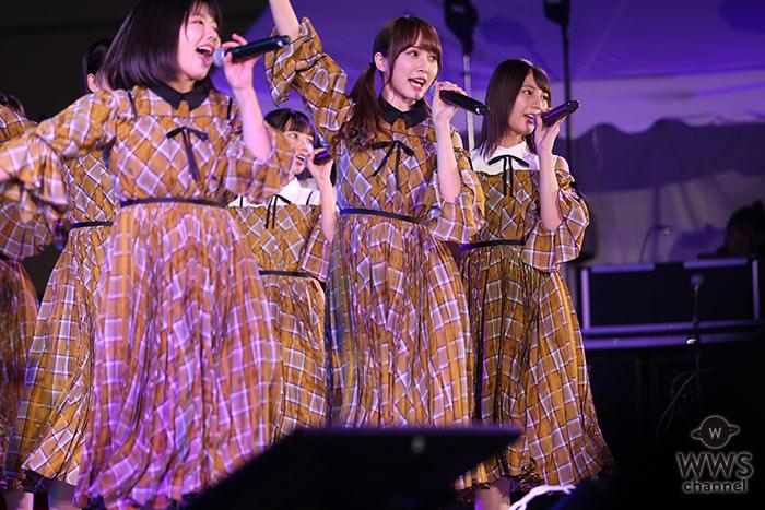 日向坂46が東京モーターショー野外ステージでドローンとコラボライブ!元乃木坂46・永島聖羅がトークショーに登場!