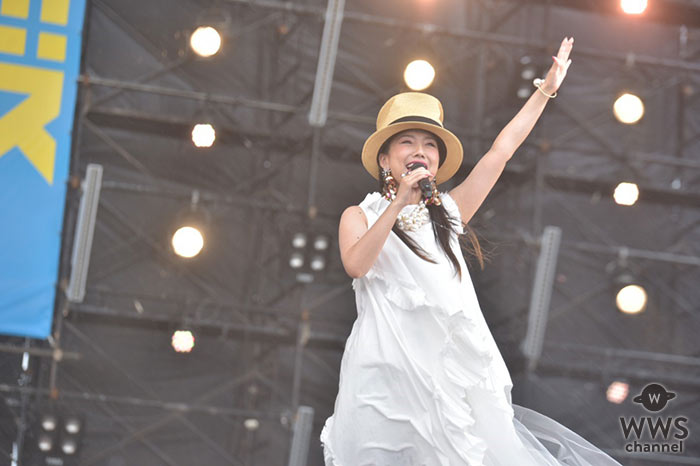 島谷ひとみ、名曲「亜麻色の髪の乙女」を美声で歌い上げ会場を魅了!<ドゥシフェス2019>