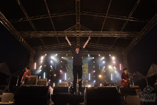 [ALEXANDROS]、沖縄の空に響き渡るワタリドリ。新曲『あまりにも素敵な夜だから』を初披露!<ドゥシフェス2019>
