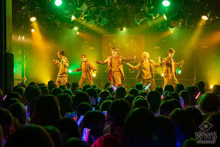 CUBERS、大盛況の渋谷クアトロにて東名阪ツアー開幕! WOWOW PLUSで初のテレビ冠番組の放送決定! スイパラとのコラボカフェ開催も!
