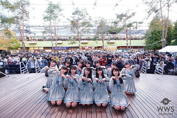 "≠ME(ノットイコールミー)、東京ドームシティ・ラクーアガーデンステージにてミニライブを開催!夢は""目の前にある東京ドーム!"""