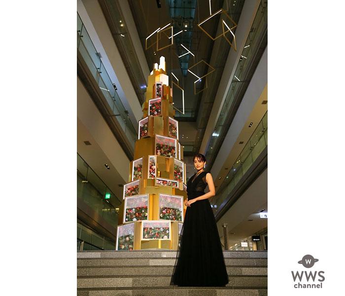 山本美月がOMOTESANDO HILLS CHRISTMAS 2019の点灯式に初登場!