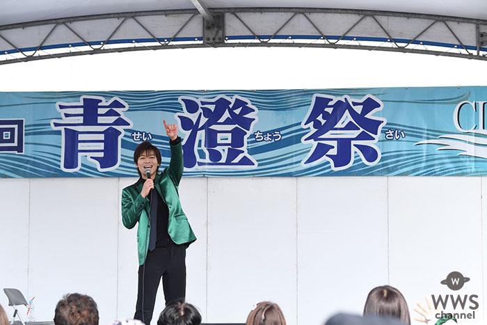 新浜レオン、学園祭LIVEにも挑戦!尾崎豊の名曲「I LOVE YOU」披露に 会場はうっとり...!!