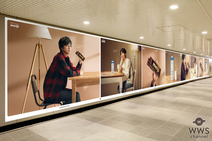 嵐・相葉雅紀、松本潤が渋谷駅で広告ジャック!
