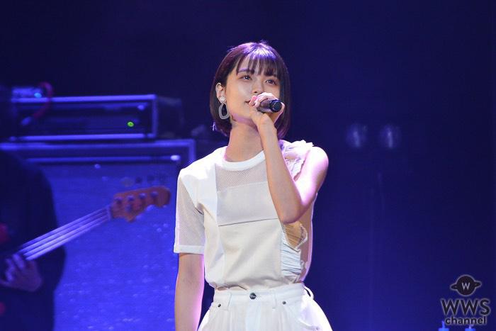 足立佳奈が「AGESTOCK2019」に出演!シースルーの衣装でヒットナンバーを披露