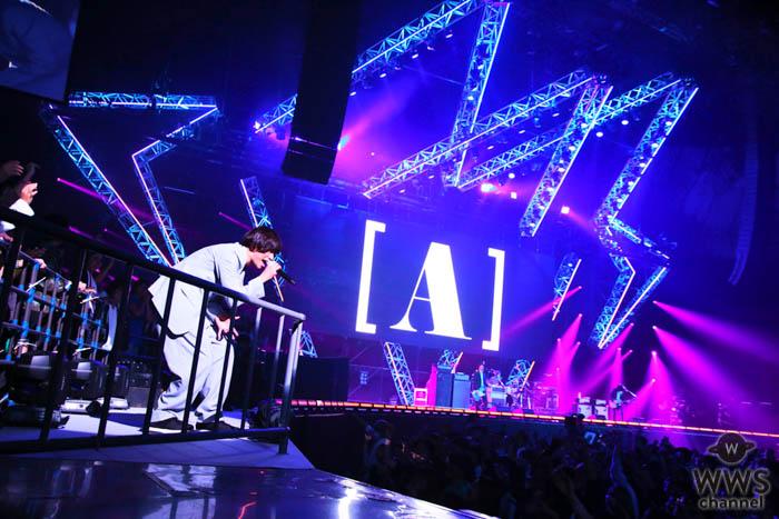 【ライブレポート】[ALEXANDROS]が「バズリズム LIVE 2019」初日ステージの大トリを飾る!