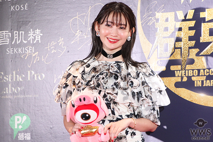 小嶋陽菜が中国ウェイボー(微博)主催アワードのレッドカーペットに登場!<WEIBO Account Festival in Japan 2019>