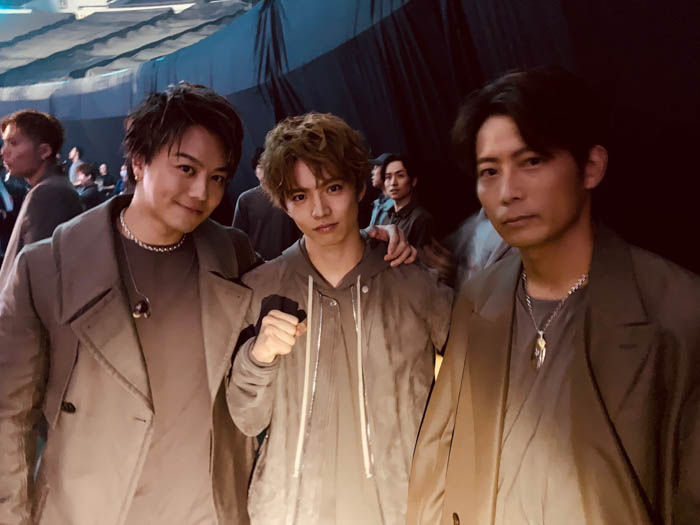 EXILE TAKAHIRO、佐藤大樹、黒木啓司の3ショットが公開!「ベストヒット歌謡祭2019」で新曲『愛のために ~for love, for a child~』を初披露