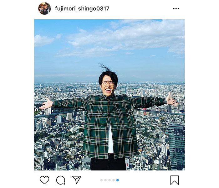 オリラジ・藤森慎吾が渋谷スカイへ来場!「笑顔が可愛い尊い」「気分は最高!!ですね」