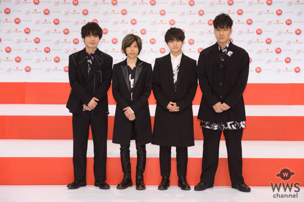Official髭男dism(ヒゲダン)がNHK紅白初出場!「4人でいい音楽を伝えていきたい」<第70回NHK紅白歌合戦>