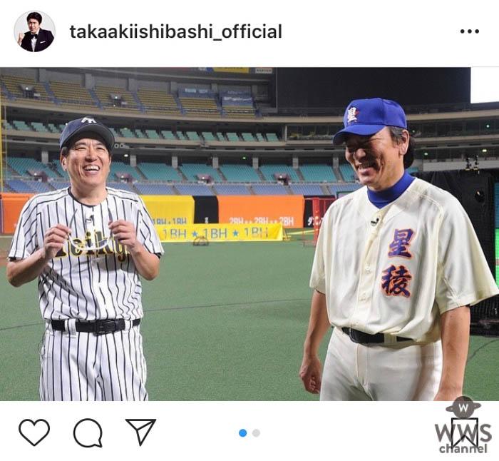 石橋貴明、5年連続で松井秀喜と「リアル野球BAN」対決!『とんねるずのスポーツ王は俺だ!!』放送日が決定