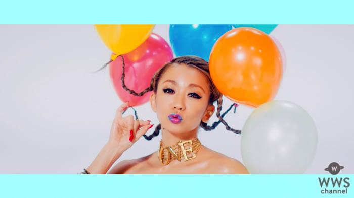 倖田來未・美腹筋輝く新曲「k,」ミュージックビデオ解禁!キュートなカラフルな世界観を表現