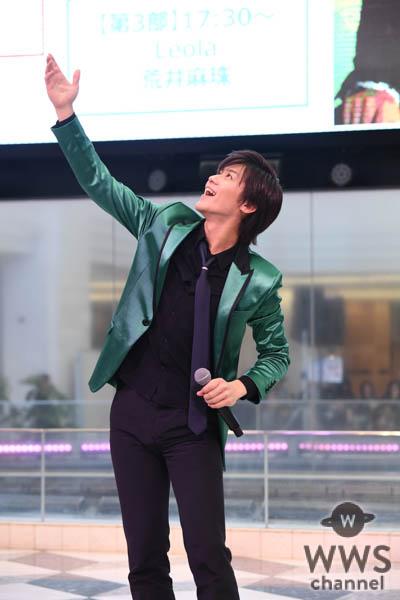 新浜レオン、第61回 日本レコード大賞 新人賞受賞後初イベント出演!「一番星を狙います!!」