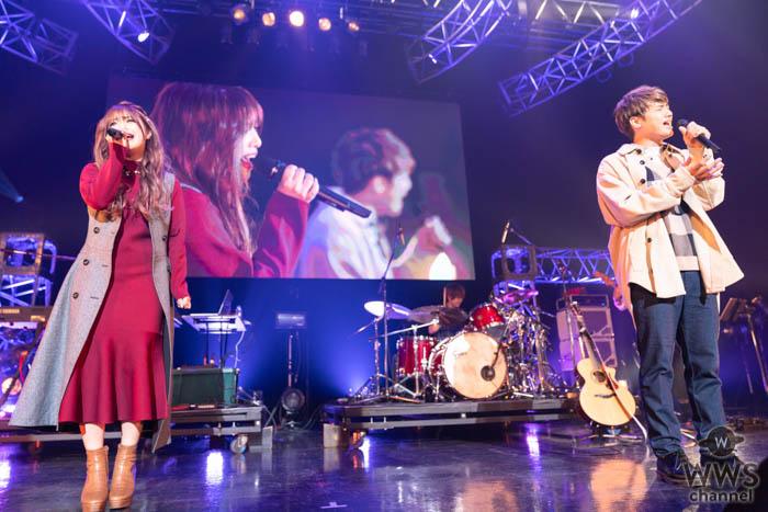 【ライブレポート】男女2人組ボーカルユニット・まるりとりゅうが、繊細な恋物語を紡ぎ出す<Tune LIVE 2019>