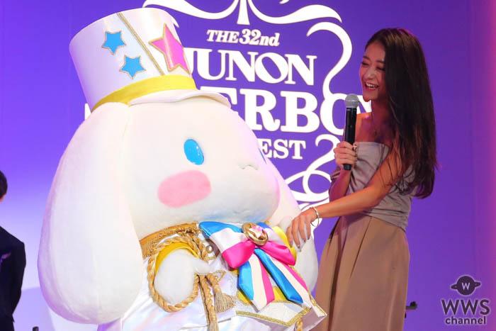 「第32回ジュノン・スーパーボーイ・コンテスト」でサンリオ・シナモロールが審査員特別賞を受賞