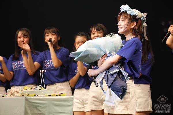 STU48初の全国ツアー開幕!岡田奈々、激レアハーフツインに大照れ
