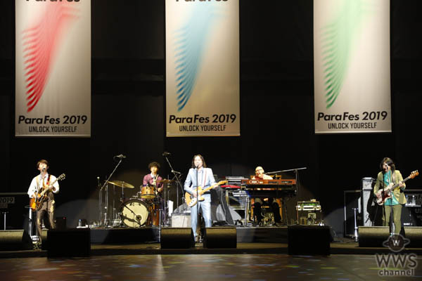 【ライブレポート】ウルフルズが『ガッツだぜ!』でパラフェスを応援!<ParaFes 2019>