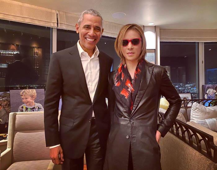 X JAPAN YOSHIKIの誕生日をオバマ前米大統領が祝福!「スケールが凄すぎて二度見しました」とファン驚き