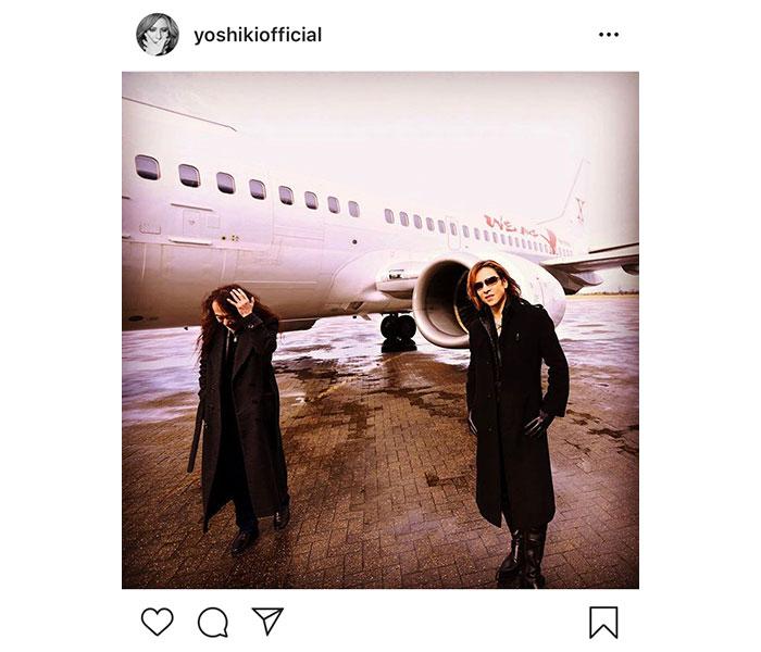 X JAPAN YOSHIKIがメンバーPATAの誕生日を祝福!「X JAPANライブ間近かなー♪」と期待の声も