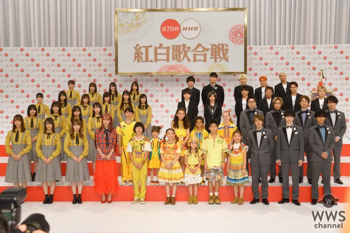 『第70回NHK紅白歌合戦』の出演アーティスト41組が出揃う