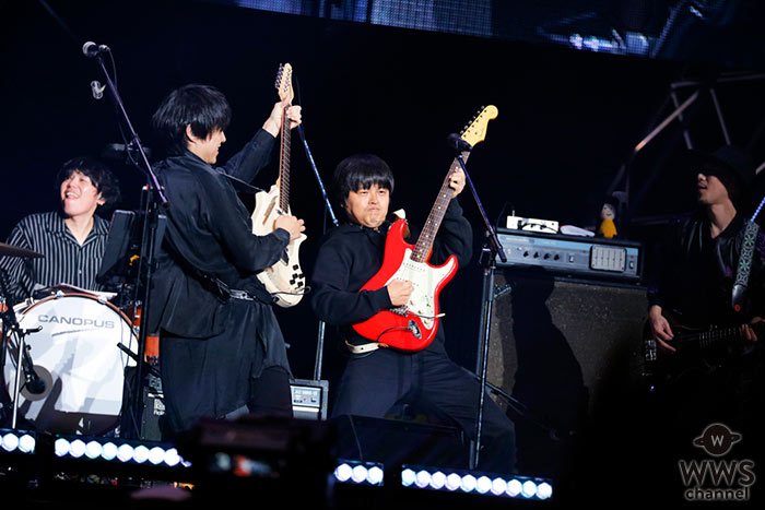 【ライブレポート】フジファブリック、「バズリズム LIVE 2019」でバンドでは絶対書けないバカリズムとのコラボ曲を初披露!