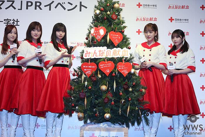 乃木坂46・齋藤飛鳥、堀未央奈、与田祐希ら、クリスマスツリーに願いを込める!