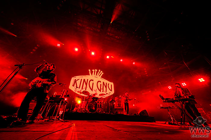 【ライブレポート】King GnuがEARTH STAGEを沸かせる!破竹の勢いでまさに向かうところ敵なし!<COUNTDOWN JAPAN 19/20>
