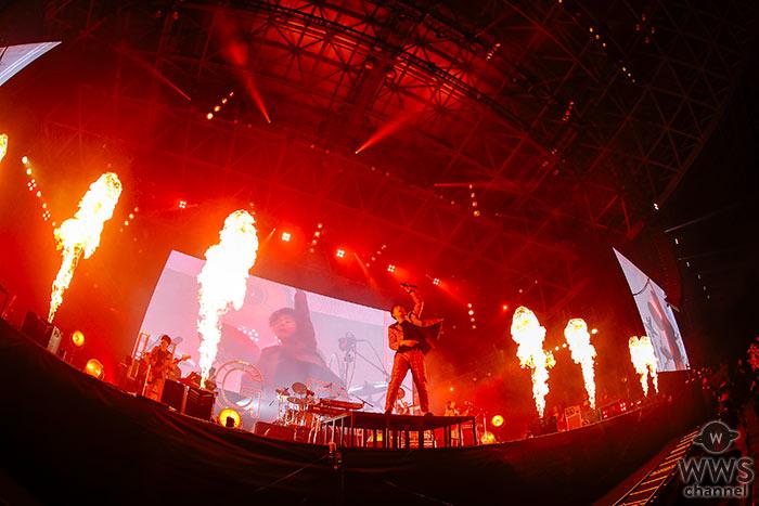 【ライブレポート】Official髭男dismが熱い想いで良質なサウンドを届ける!<COUNTDOWN JAPAN 19/20>