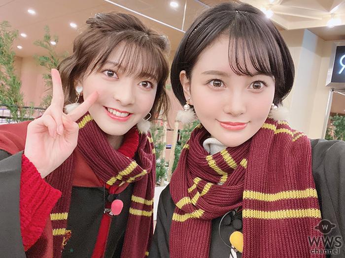兒玉遥・菅原りこ、夢の2ショット in USJにファン歓喜!