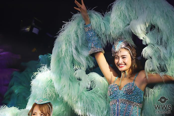香川沙耶バーレスクショー開催!10頭身ボディで観客を魅了!!