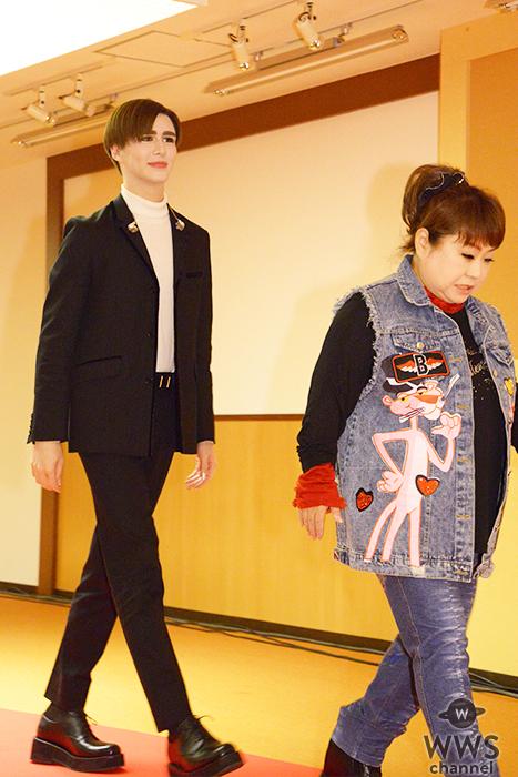 天童よしみとMattがNHK紅白の会見にレッドカーペットから登場!<第70回NHK紅白歌合戦>