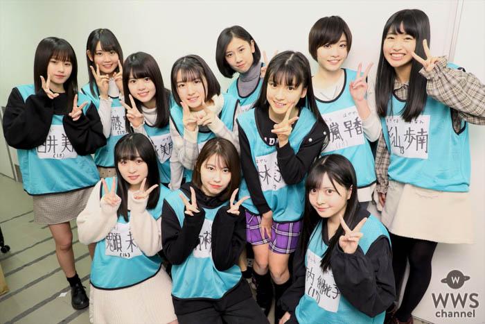 SKE48 10期生が遂にお披露目!48グループ最年少の林美澪「『前のめり』に頑張ります」