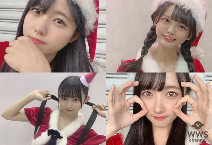 STU48 瀧野由美子、福田朱里、門脇実優菜からクリスマスイブにサンタコス写真が続々投稿!