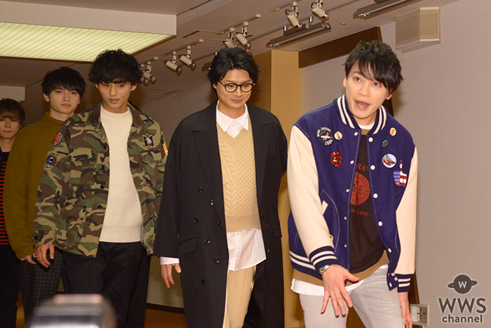 Kis-My-Ft2がNHK紅白の会見にレッドカーペットから登場!<第70回NHK紅白歌合戦>