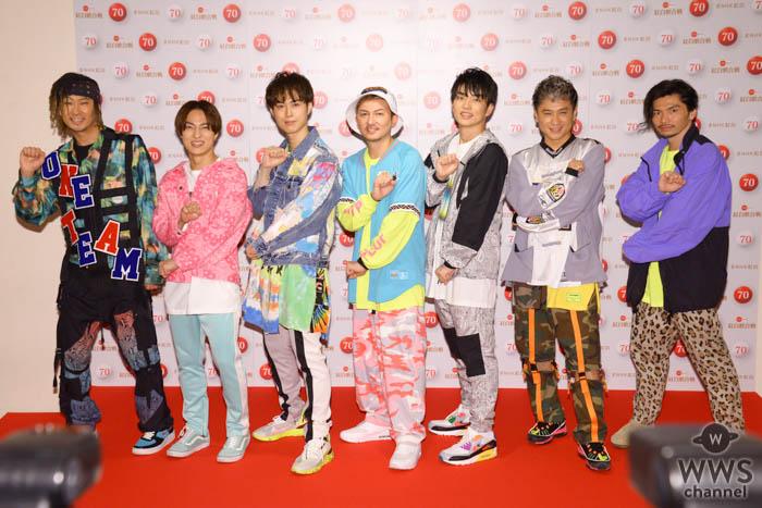 DA PUMP、NHK紅白で「ONE TEAM」に!高所恐怖症のメンバーもドキドキのパフォーマンス!<第70回NHK紅白歌合戦>