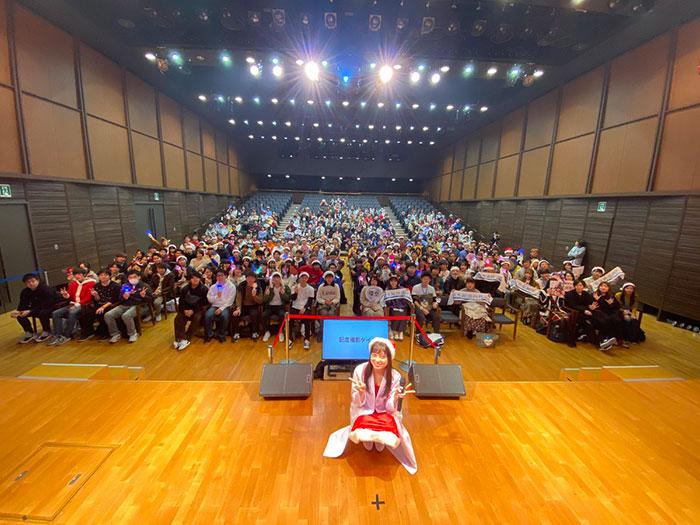 橋本環奈がサンタに変身!地元・福岡でファンミ開催に「最高でした!」「素敵な時間をありがとう」