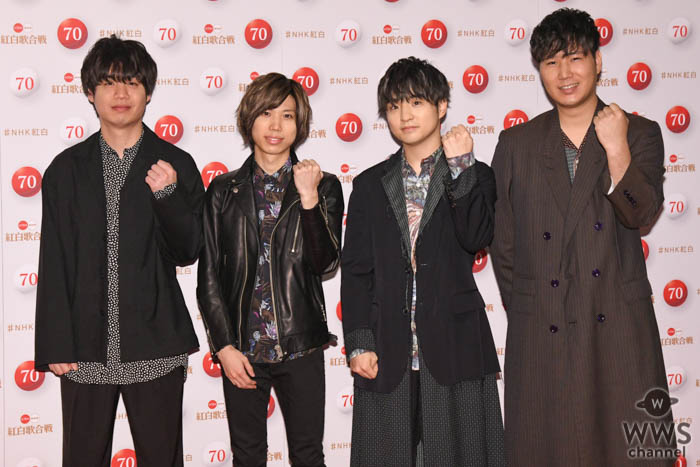 Official髭男dism(ヒゲダン)がNHK紅白のリハーサルに登場!<第70回NHK紅白歌合戦>
