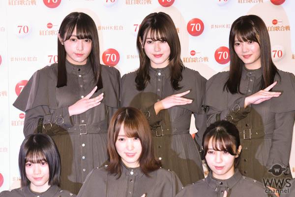 欅坂46がNHK紅白囲み取材に登場!2年前から成長した「不協和音」を音合わせでお披露目<第70回NHK紅白歌合戦>
