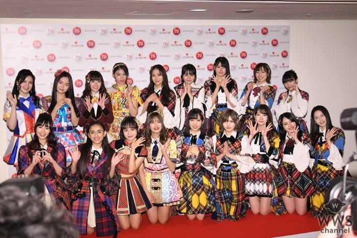 世界のAKB48グループが大集結!柏木由紀、岡田奈々、須田亜香里らNHK紅白のリハーサルに登場!<第70回NHK紅白歌合戦>